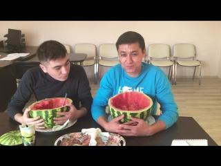 Әгәр ҙә мәгәр: Йәмил һәм Ғәзиз ҡарбуҙ ашайҙар