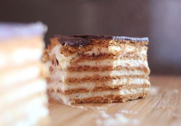 """Шоколадный торт-эклер"""