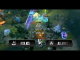 Amazing team fight by Alliance vs RoX.KIS @ StarLadder LAN-Finals - VII