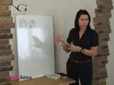 Декоративный френч на коротких ногтях - видео-урок Натальи Голох