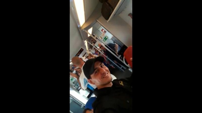 Аргентина ехали в у меня в вагоне поезде 729 нижний Новгород Москва