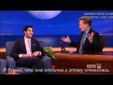Darren Criss on Conan (RUS SUB)
