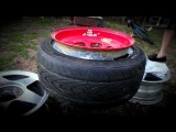 Tyre Stretching (Duct Tape 2nd)