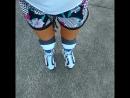 Roller skate mi piace molto.