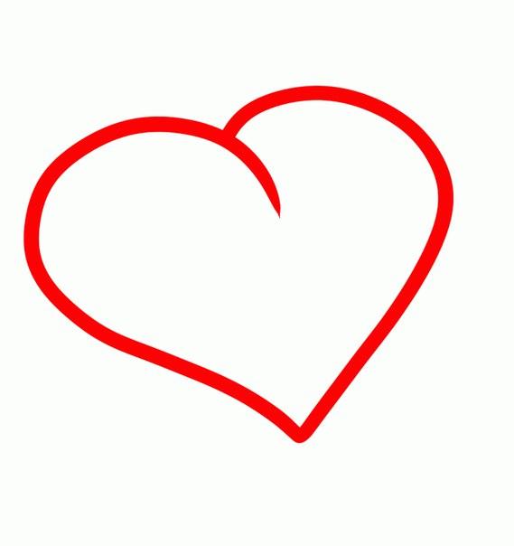 Как нарисовать самые красивые сердечки