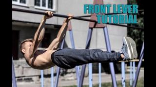 Передний вис. Руководство по изучению / Front lever tutorial