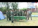 В Ельце начал свою работу казачий военно-патриотический лагерь