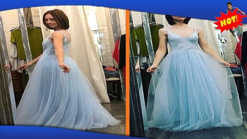 ✅ «Пуговка выросла» звезда «Папиных дочек» похвасталась платьем на выпускной