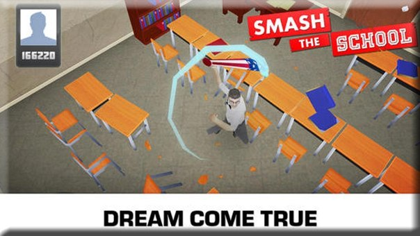 Скачать Smash the School - Antistress для android