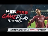 PES 2019 Gameplay - Liverpool vs Barcelona (vs Precision) WinterSnow at Anfield!