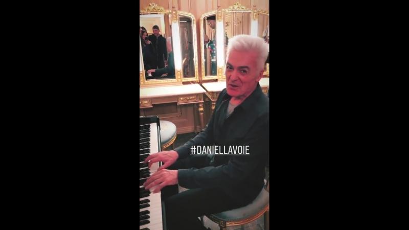 2018 Москва/ Moscow. Кремлевский дворец. Daniel Lavoie - Boule qui roule
