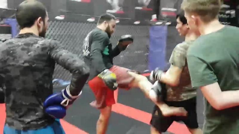 Тренировка в Eagles MMA Rostov Don