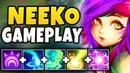 NEW CHAMPION NEEKO IS 100% BEYOND BROKEN HUGE DAMAGE NEEKO MID GAMEPLAY League of Legends
