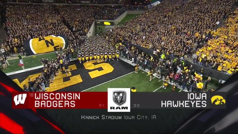 NCAAF 2018 Week 04 (18) Wisconsin Badgers - Iowa Hawkeyes EN