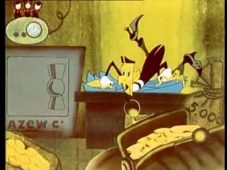 Советские Мультфильмы для детей - Буквы Из Ящика Радиста. Три буквы (1966)