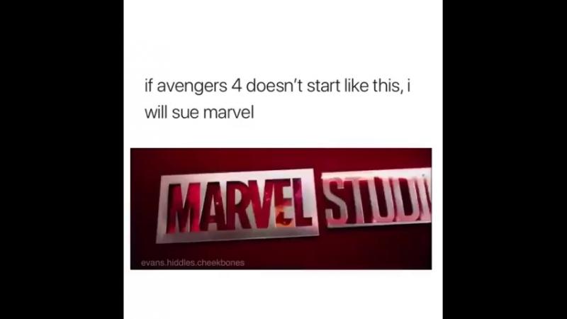 Если Мстители 4 не начнутся так, я подам в суд на Марвел
