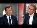 Echange musclé entre Louis Aliot et Jean Jacques Bourdin sur le temps de parole du FN sur BFMTV