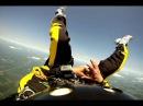 Прыжок с парашютом в наручниках Escape Artist Anthony Martin's Point of View Skydiving While Handcuffed