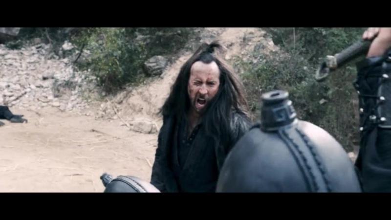 В изгнании (2014). Финальный бой отряда Джекоба и Геллейна с воинами Шинга