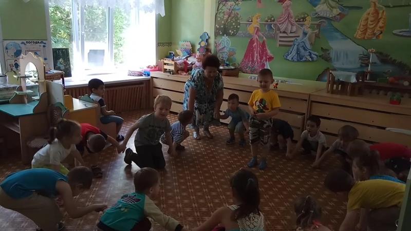 хоровод день рождения Верицун Сергей средняя группа воспитатель Протасова Нина Дмитриевна