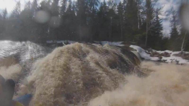 Сплав по реке Укса (автор Мария Левашова)