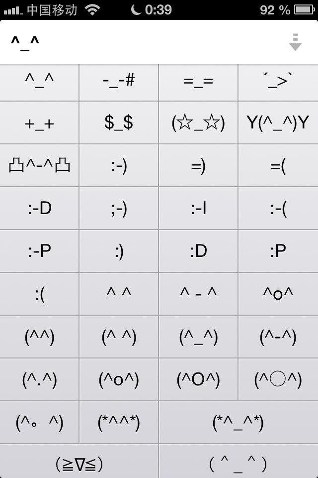 смайлики из символов смс: