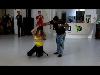 Berlin Zouk Congress 2012 - Adilio and Lucia and Evelyn Workshop