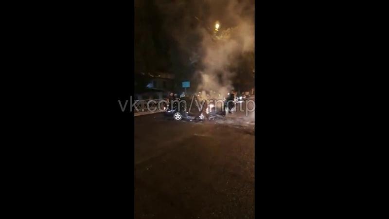 Страшное ДТП на тамбовской трассе Приора влетела в каток в итоге четыре трупа