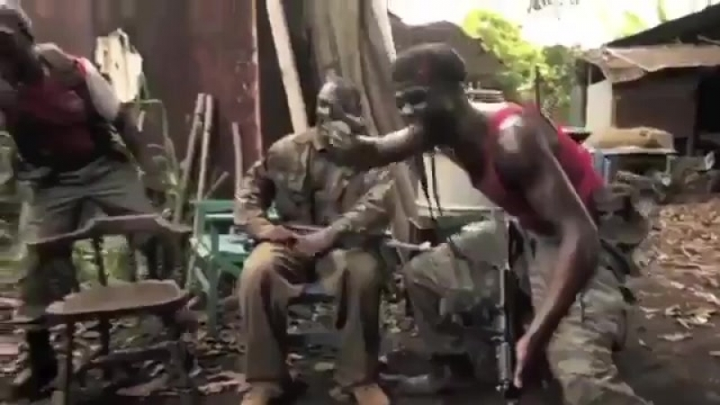 Hold my beer while I give this chimpanzee an AK47