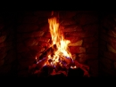 4K Relaxing Fireplace with Crackling Fire Sounds