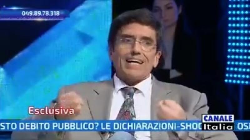 Cancellare il debito estero.CHIUDERE LA POSSIBILITÀ ALLA BCE di stampare denaro per l'italia.Condividere in massa.