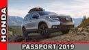 Хонда Паспорт 2019 | Honda Passport 2019 - Обзор от AUTO WORLD RU