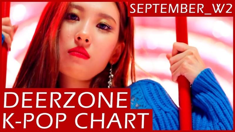DEERZONE K-POP CHART | SEPTEMBER 2018 | WEEK 2