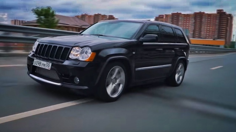 1000 л.с. Jeep SRT8 Twin Turbo. 3000 км на мотоцикле
