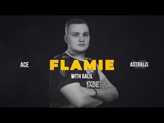 Flamie's ace navi vs astralis