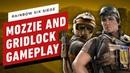 Rainbow Six Siege Mozzie and Gridlock Gameplay