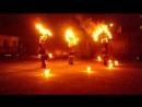 огненое шоу на свадьбе сына моей крестной мамы