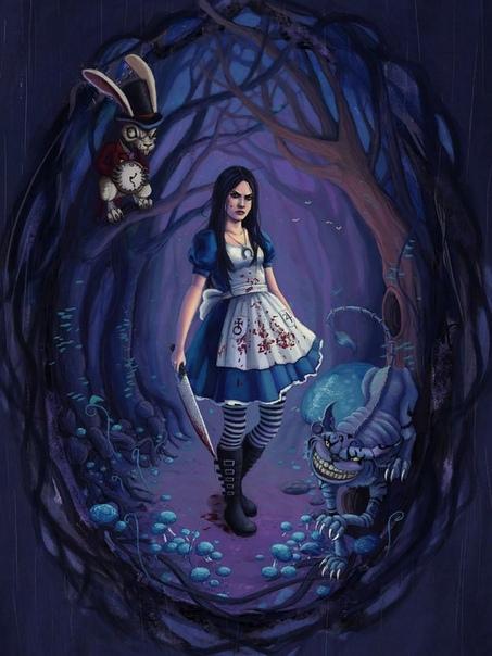 - Послушай, Алиса, мне не нравится эта странная нора. Может не надо, а - Отстань, может там бар! (с)