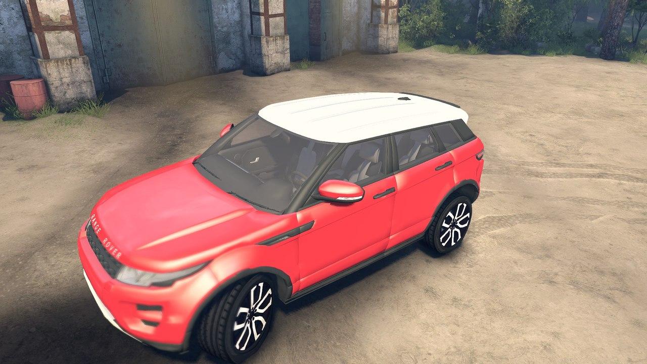 Range Rover Evoque для Spintires - Скриншот 1