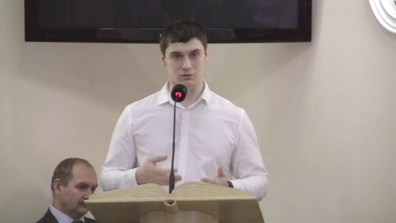 Николаев П.В. - проповедь: Иисус Христос - Краеугольный Камень (17.03.2019г.)