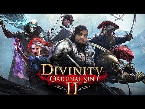 [18] Шон играет в Divinity Original Sin 2 (PC, 2017)
