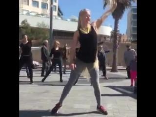 Irina ratomskaya - gorgeous long blonde hair (fitness rapunzel).