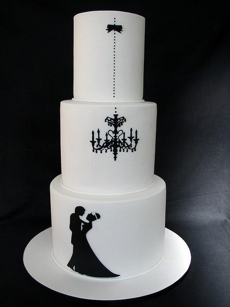 Черные тортики