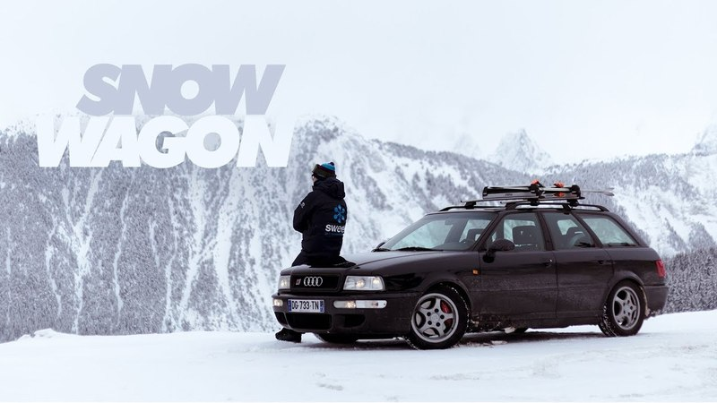 1994 Audi RS2 Strap Into The Snow Wagon