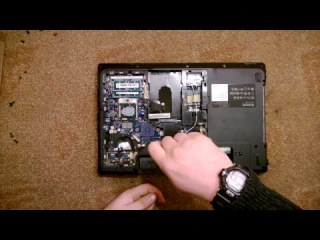 Как разобрать Ноутбук Lenovo IdeaPad G560 (Lenovo IdeaPad G560 disassembly. How to replace HDD, RAM)