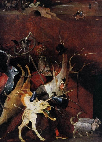 иероним босх (ок. 1450—1516) триптих «искушение святого антония» 1505-1506. дерево, масло. 131,5 x 225 см национальний музей старинного искусства в лиссабоне. это одна из важнейших работ, в