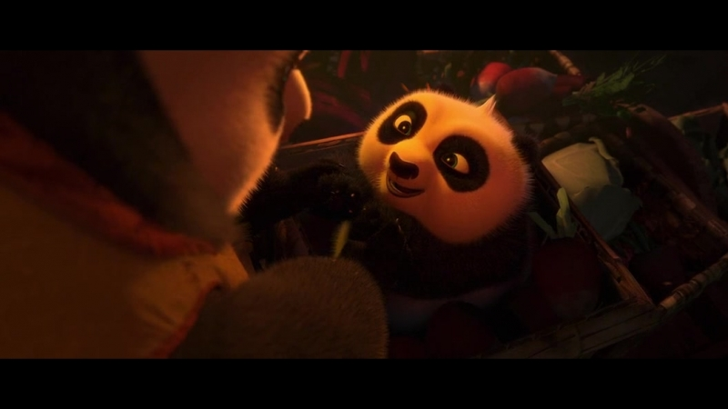 Малыш панда плачет Полный отрывок из Кунг фу Панда 2