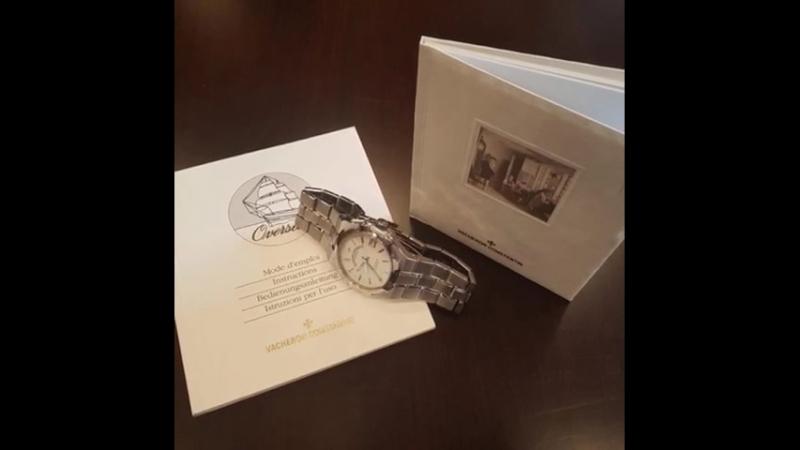 Мужские часы Vacheron Constantin Overseas Chronometer