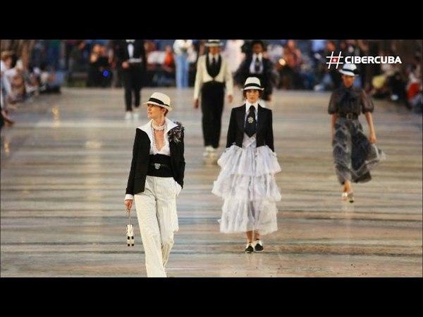 Las mejores imágenes del desfile de Chanel en Cuba