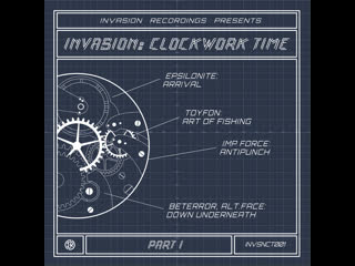 VA - INVASION: Clockwork Time, Pt.I